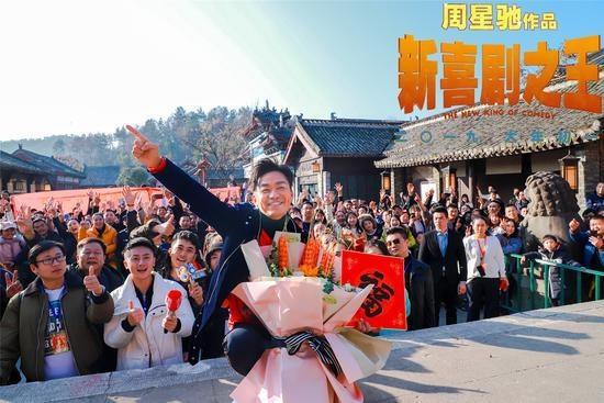 """【騰訊視頻】王寶強攜《新喜劇之王》為""""橫漂""""鼓勁助威"""